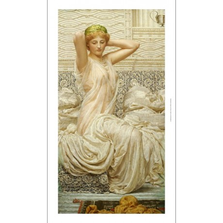 "ALBERT JOSEPH MOORE ""Silver"" nude portrait ON CANVAS various SIZES available"