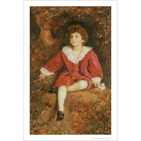 SIR JOHN EVERETT MILLAIS Portrait boy PRINT ON CANVAS various SIZES, BRAND NEW