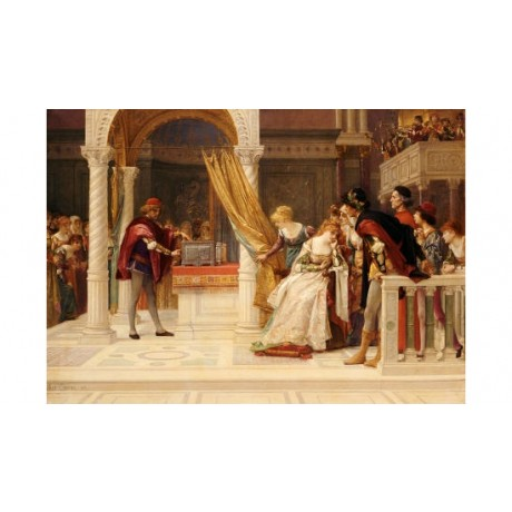"ALEXANDRE CABANEL ""Merchant Of Venice"" Shakespeare ART various SIZES available"