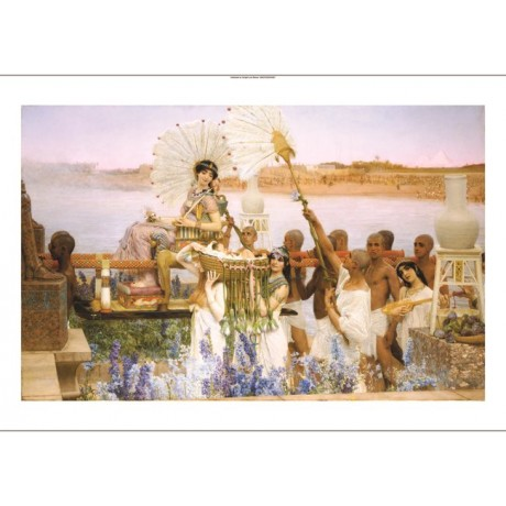 "SIR LAWRENCE ALMA-TADEMA ""Finding Of Moses"" BIBLE print various SIZES, BRAND NEW"