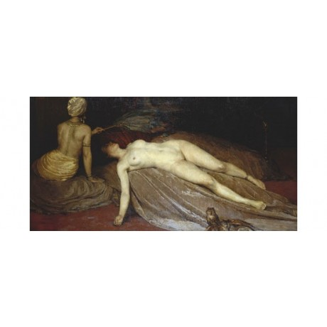 "CONSTANTIN FONT ""Odalisque"" 5000+ PRINTS in our shop! various SIZES available"