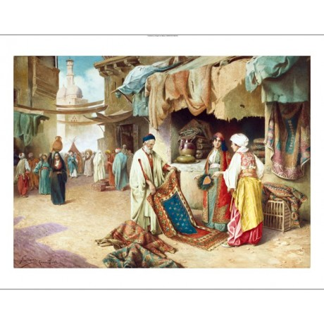 "FEDERICO BALLESIO ""The Carpet Seller"" BROWSE our shop! various SIZES, BRAND NEW"
