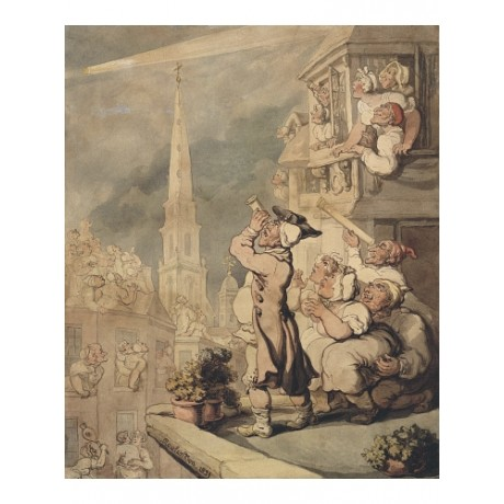"THOMAS ROWLANDSON ""The Comet"" BROWSE our eBay shop! various SIZES available, NEW"