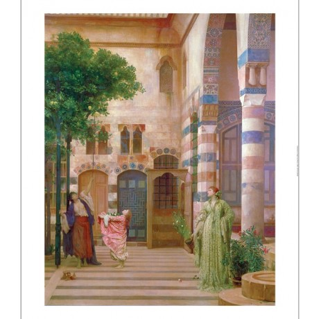 "FREDERIC, LORD LEIGHTON ""Old Damascus"" PRINT NEW choose SIZE, from 55cm up, NEW"