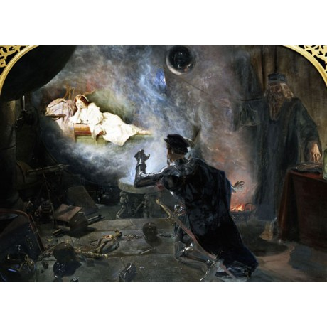 "EDWARD CORBOULD ""Earl of Surrey Beholding Fayre Geraldine"" MAGIC canvas PRINT"
