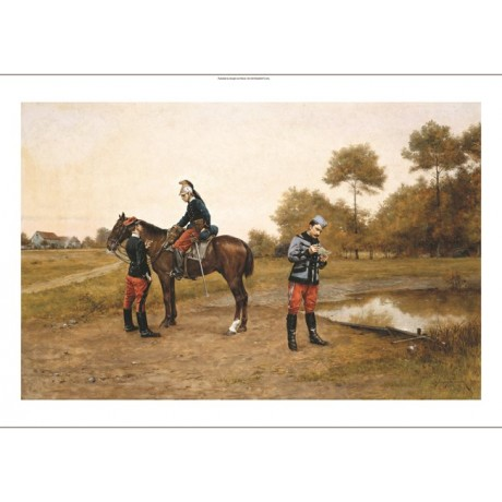 "ETIENNE PROSPER BELLECOUR ""A Letter From Home"" CANVAS! various SIZES, BRAND NEW"