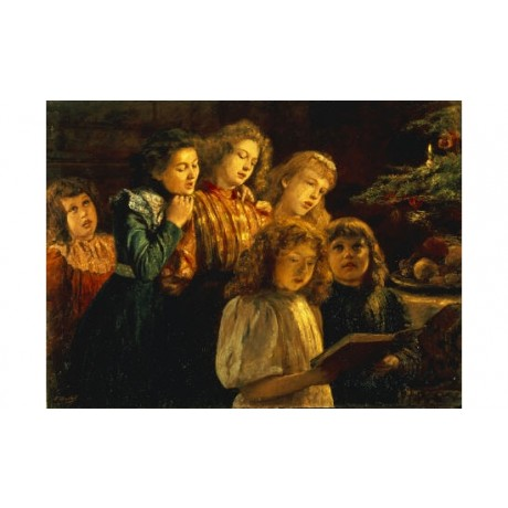 "PAUL BARTHEL ""Choir"" music Art Print choose your SIZE, from 55cm up"