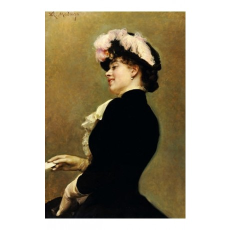 "RAIMUNDO DE MADRAZO Y GARRETA ""An Elegant Beauty"" print various SIZES, BRAND NEW"