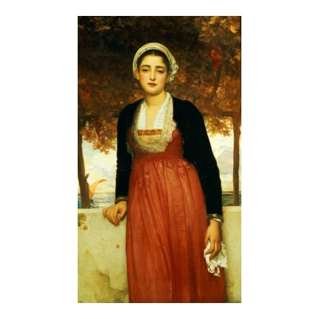 "FREDERIC, LORD LEIGHTON ""Amarilla"" print ON CANVAS choose SIZE, from 55cm up"