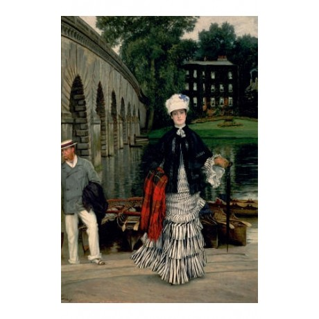 "JAMES JACQUES JOSEPH TISSOT ""Return From Boating Trip"" various SIZES, BRAND NEW"