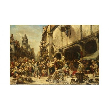"EUGENE ISABEY ""The Market Place"" BROWSE our eBay shop! various SIZES, BRAND NEW"