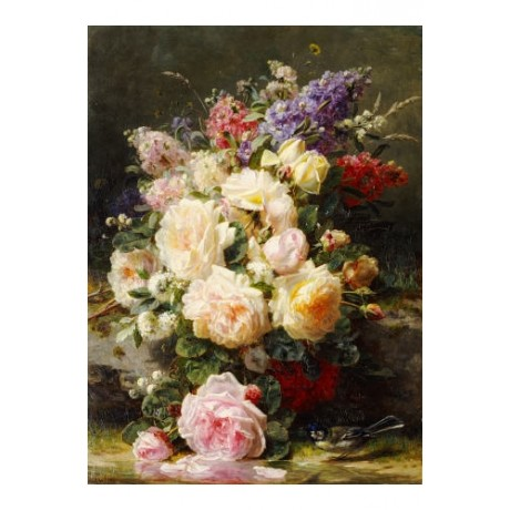 JEAN-BAPTISTE ROBIE FLOWERS still Art Print BUY FRMAED various SIZES available