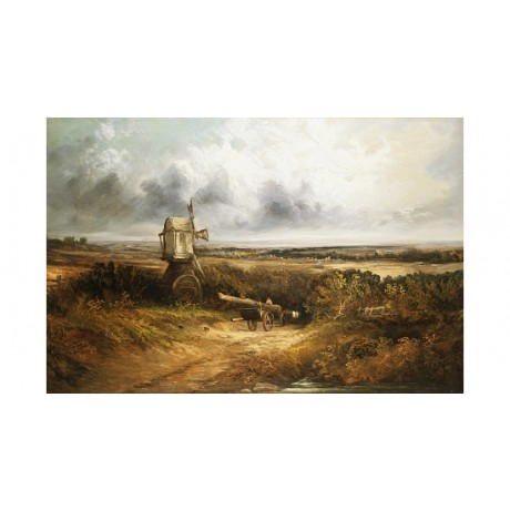 "GEORGES MICHEL ""A Woodcutter On A Path"" BROWSE our shop various SIZES, BRAND NEW"