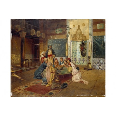 "RUDOLF ERNST ""An Eastern Meal"" BROWSE our eBay SHOP! various SIZES available"