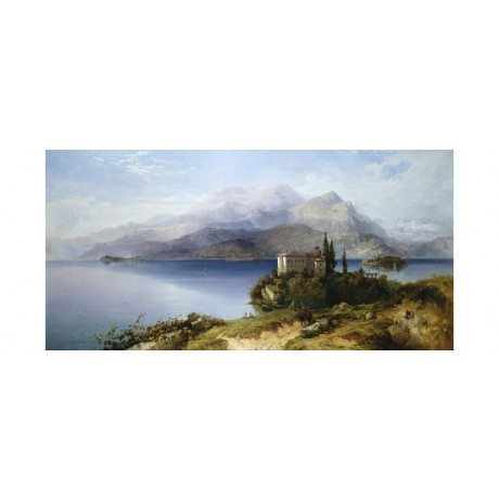 "GEORGE EDWARDS HERING ""Lake Maggiore"" BROWSE our shop! various SIZES, BRAND NEW"