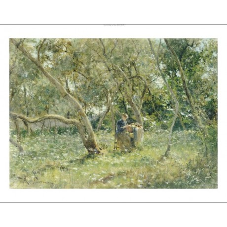 "ROBERTO FONTANA ""In Orchard"" print italian summer choose SIZE, from 55cm up, NEW"