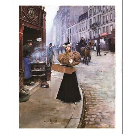 "JEAN BERAUD ""The Roasted Chestnut Seller"" SEE OUR SHOP! various SIZES, BRAND NEW"