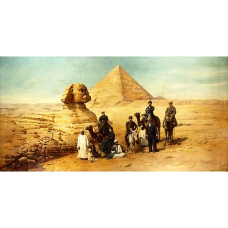 FRANZ ROHRBECK The Grand Tour travel EGYPT camel sphinx pyramid tourists NEW!!