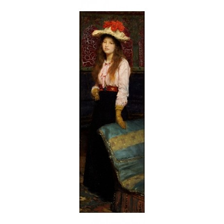 "SIR LAWRENCE ALMA-TADEMA ""Portrait Of Miss MacWirter"" various SIZES, BRAND NEW"