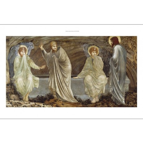 EDWARD BURNE-JONES Morning Of Resurrection new CANVAS! various SIZES, BRAND NEW