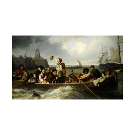 "ANTONIE VOLKMAR ""Emigration To America"" People Print various SIZES available"