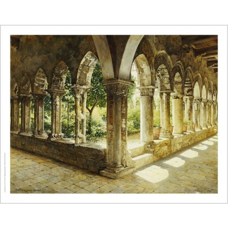 "JOSEF THEODOR HANSEN ""Cefalu Cloisters, Sicily"" Print various SIZES, BRAND NEW"
