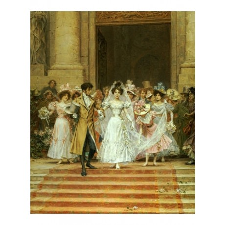 "FREDERIK HENDRIK KAEMMERER ""After Wedding"" ON CANVAS various SIZES available"