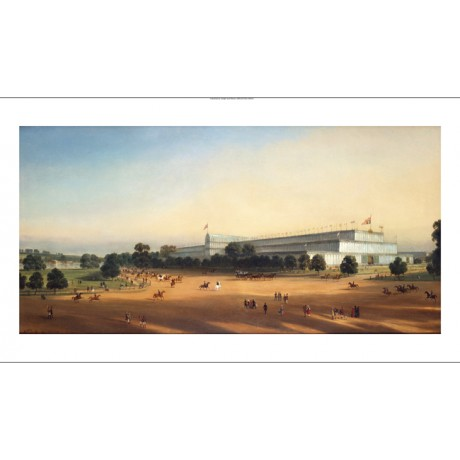 P LE BIHAN Transport ON CANVAS Crystal Palace in 1851 various SIZES, BRAND NEW
