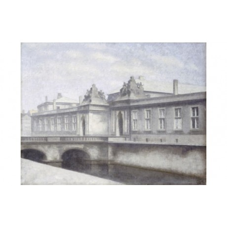 VILHELM HAMMERSHOI Christiansborg Palace Copenhagen ART various SIZES available