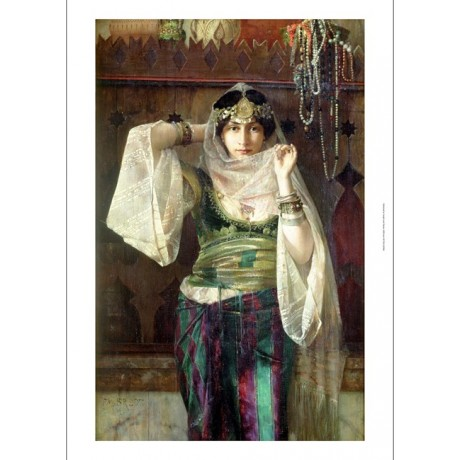 "FERDINAND MAX BREDT ""Queen Of Harem"" ON CANVAS BEAUTY! various SIZES, BRAND NEW"
