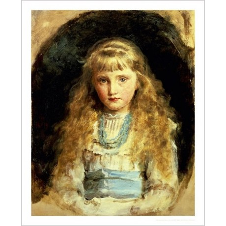 "SIR JOHN EVERETT MILLAIS ""Portrait Of Beatrice Caird"" various SIZES, BRAND NEW"