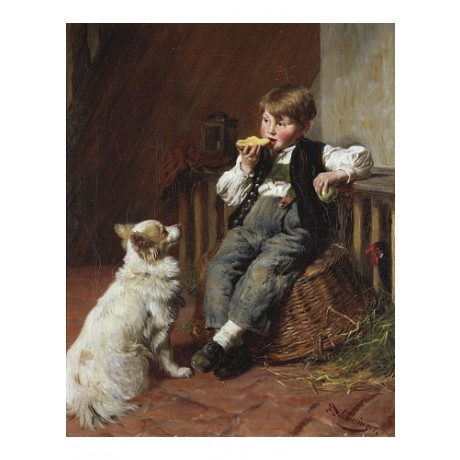 "FELIX SCHLESINGER ""Lunch Time"" 5000+ PRINTS in our shop various SIZES, BRAND NEW"