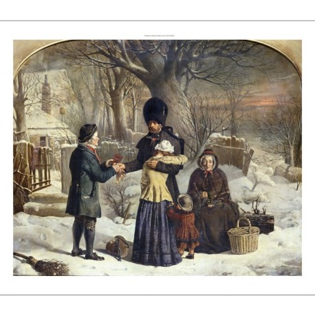 "GEORGE HOUSMAN THOMAS ""The Soldier's Farewell"" CANVAS! various SIZES, BRAND NEW"