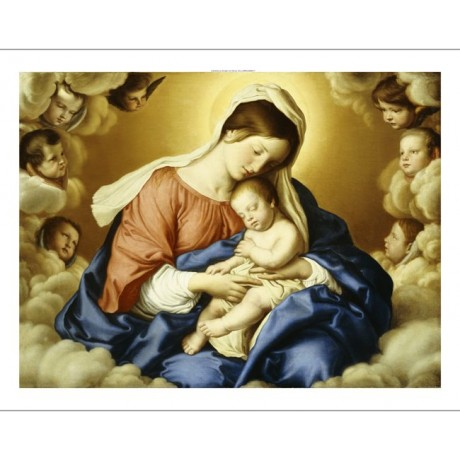 GIOVANNI BATTISTA SALVI Madonna And Child Religious ART various SIZES, BRAND NEW