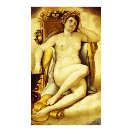 "GIOVANNI BATTISTA CRESPI ""Ceres"" nude ON CANVAS NEW various SIZES available, NEW"
