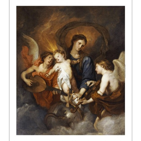 SIR ANTHONY VAN DYCK Madonna And Child Religious PRINT various SIZES, BRAND NEW