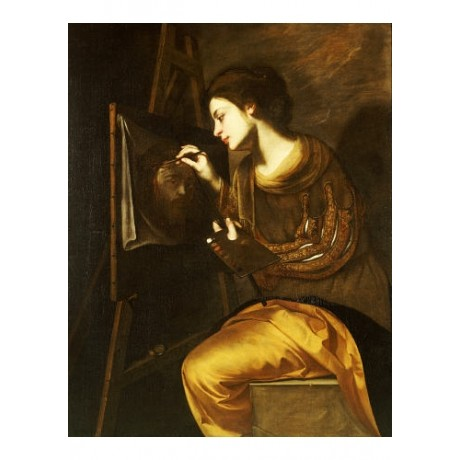 FRANCESCO GUARINO Female Artist Painting PRINT NEW choose SIZE, from 55cm up
