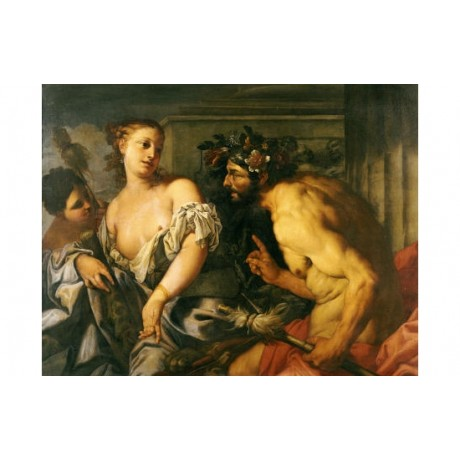 "ANTONIO ZANCHI ""Hercules And Omphale"" nude print NEW various SIZES available"