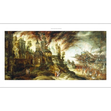 KERSTIAEN DE KEUNINCK Destruction Of Sodom And Gomorrah various SIZES, BRAND NEW