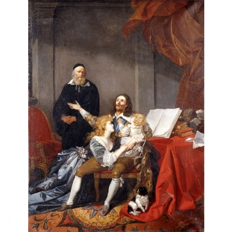 FRAGONARD King Charles I taking Leave of his Family before Execution NEW PRINT