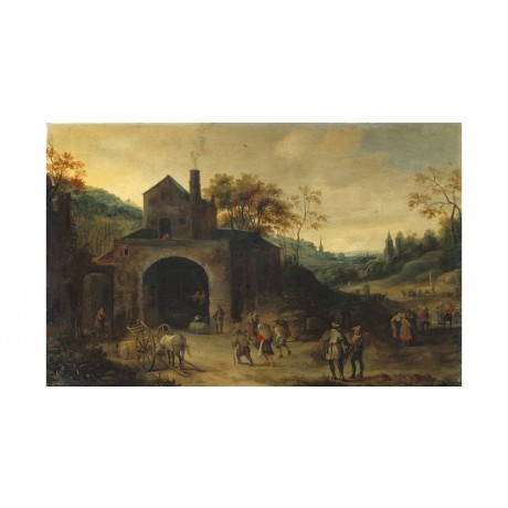 "FRANZ DE MOMPER ""A Winery"" new CANVAS see our shop! various SIZES available, NEW"