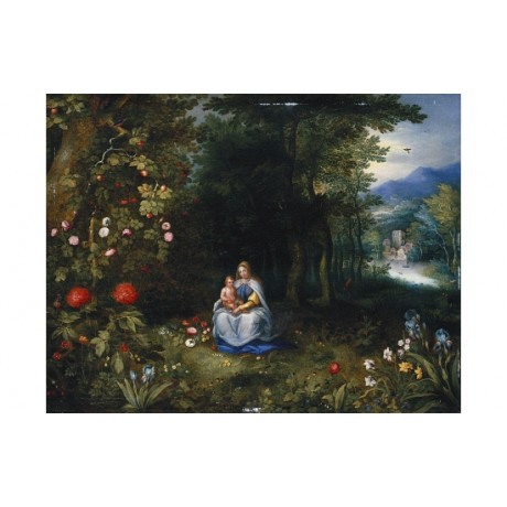 "JAN BRUEGHEL ""The Madonna And Child"" BROWSE our shop! various SIZES, BRAND NEW"