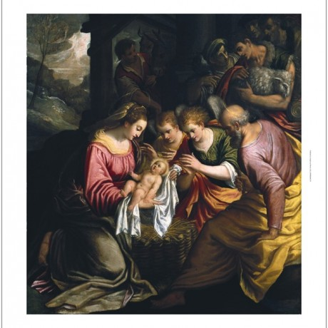 "LORENZO SABBATINI ""The Adoration Of The Shepherds"" choose SIZE, from 55cm up"