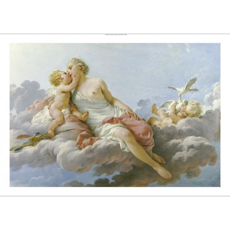 "NOEL HALLE ""Venus Ou Le Midi"" Nude ON CANVAS ON CANVAS various SIZES, BRAND NEW"