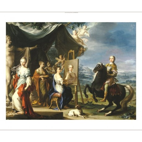 "IGNAZ STERN ""Nobleman Wearing Armour"" new CANVAS print! various SIZES, BRAND NEW"