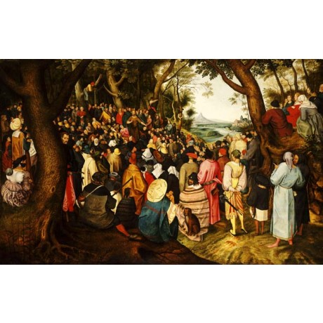 PIETER BRUEGHEL Saint John the Baptist preaching in the Wilderness NEW CANVAS!