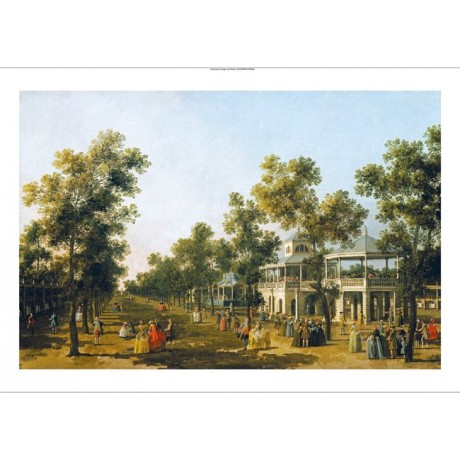 GIOVANNI ANTONIO CANALETTO Vauxhall Gardens ON CANVAS various SIZES, BRAND NEW