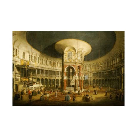 "GIOVANNI ANTONIO CANALETTO ""Rotunda Ranelagh"" PRINT various SIZES available, NEW"