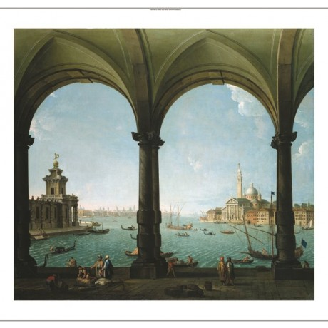 "ANTONIO JOLI ""Portico, With View of The Bacino Venice"" various SIZES, BRAND NEW"