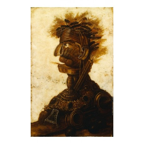 GIUSEPPE ARCIMBOLDO (FOLLOWER) Anthropomorphic III choose SIZE, from 55cm up